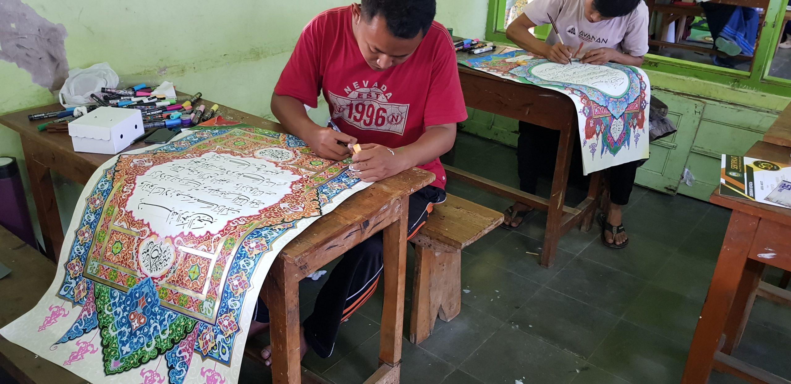 lomba kaligrafi mushaf pa