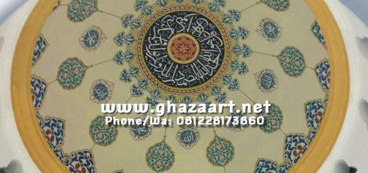 ornamen kaligrafi mudah dan murah