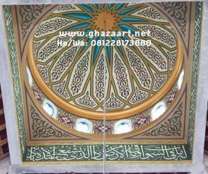 Masjid sederhana yg berada di ds.grajen kab.nganjuk ini mempunyai kubah kecil dg motif ornamen klasik nabawi yg di kerjakan oleh tim kami Ghaza art tim professional calligraphy beberapa bulan yg lalu