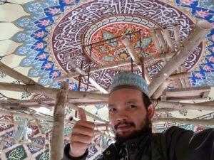 Ini adalah sosok owner di ghaza art professional calligraphy