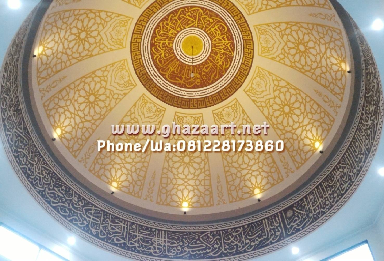 Motif kubah masjid daruttauhid