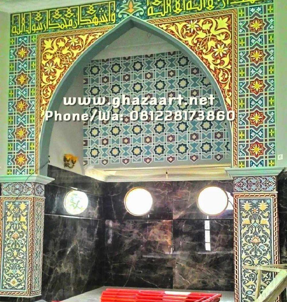 Mihrab masjid palembang