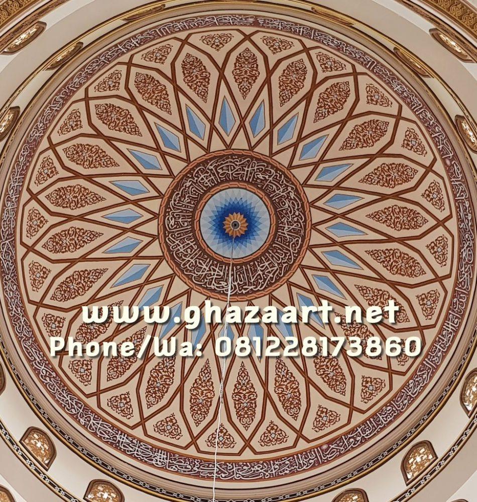 Motif kubah dalam masjid al muttaqien lamongan